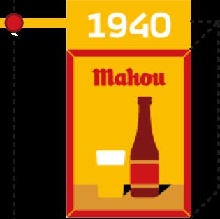 1940. Publicidad en los bares
