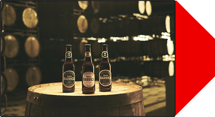 Barrica de Mahou - Cervezas lager envejecidas en barrica de roble