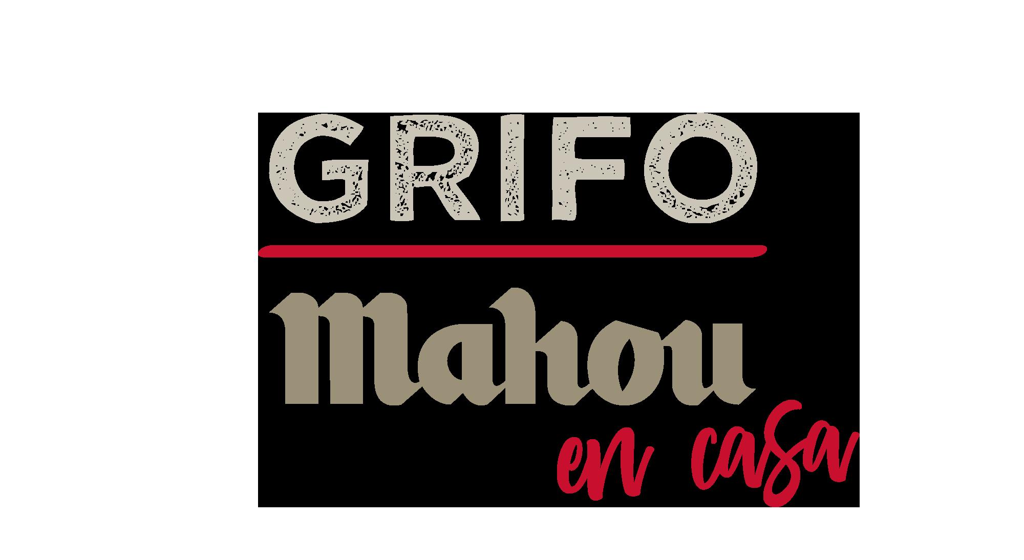 Logo principal de grifo mahou