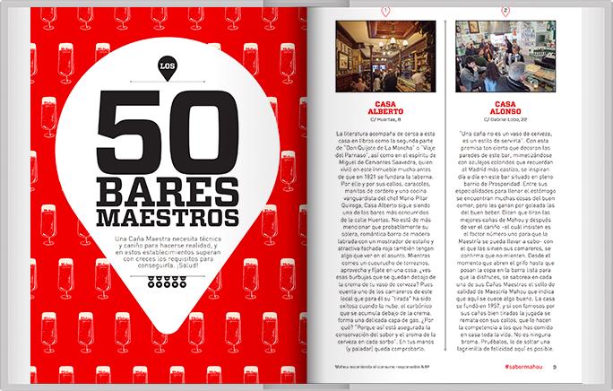 Guia de los 50 bares maestros
