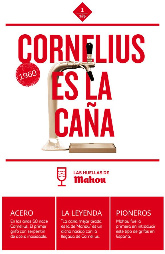 Huella 'Cornelius es la caña'