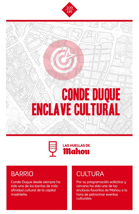Huella 'Conde Duque, enclave cultural'