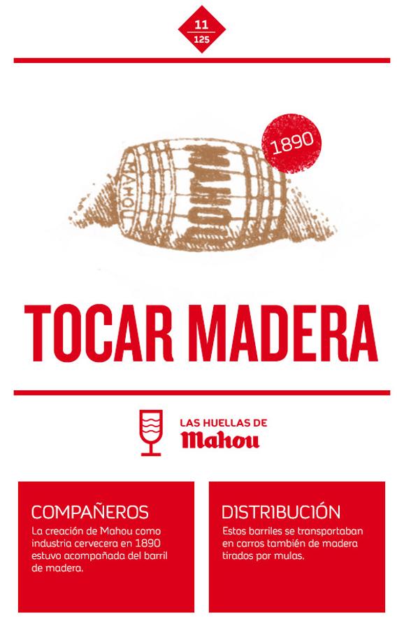 Huella 'Tocar Madera'