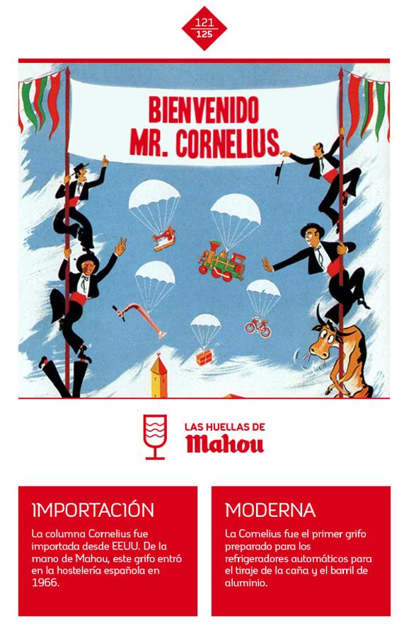 Huella 'Bienvenido Mr. Cornelius'