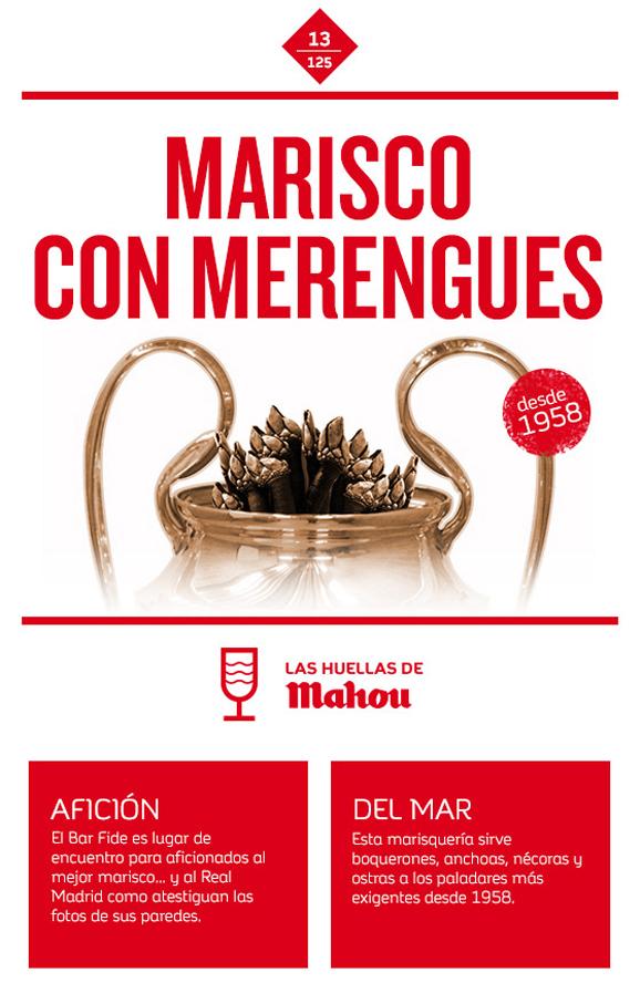 Huella 'Marisco con merengues'