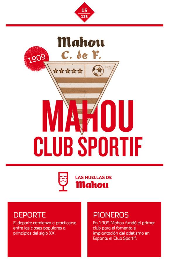 Huella 'Mahou Club Sportif'