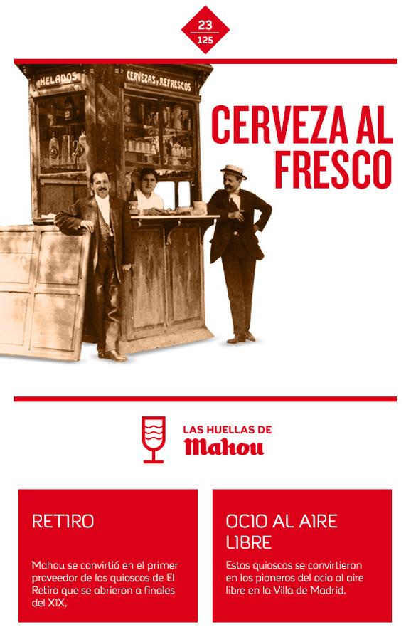 Huella 'Cerveza al fresco'