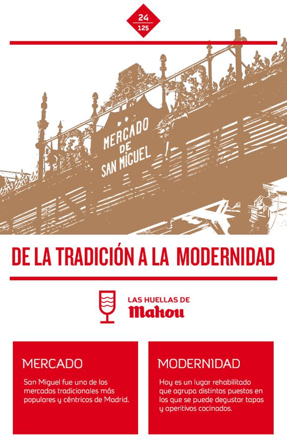 Huella 'De la tradición a la modernidad'