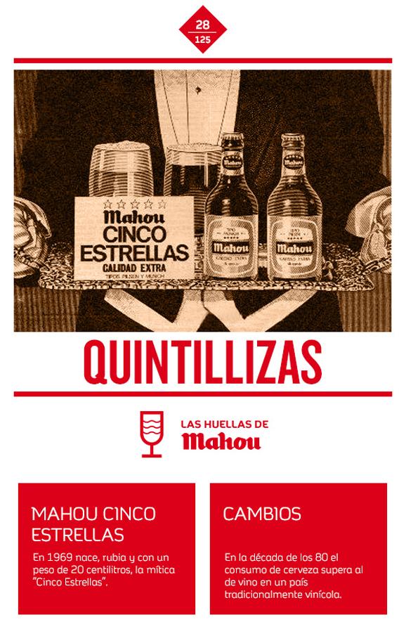 Huella 'Quintillizas'