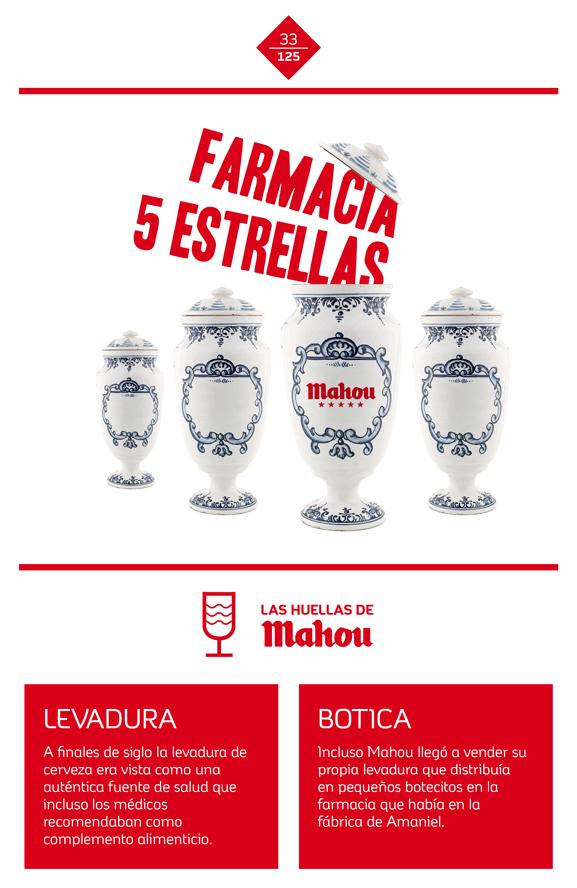 Huella 'Farmacia 5 estrellas'