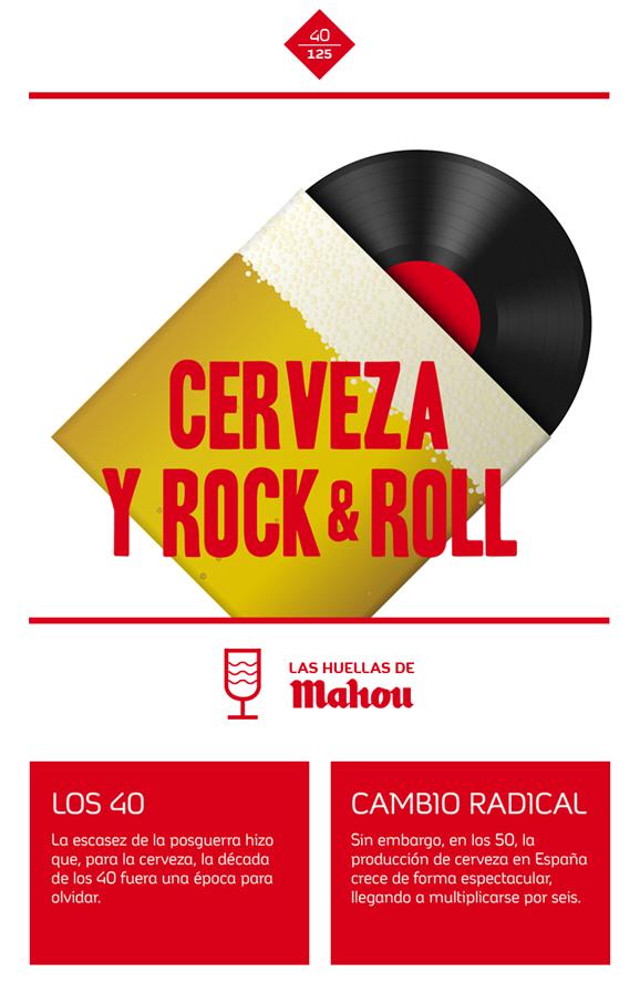 Huella 'Cerveza Rock & Roll'