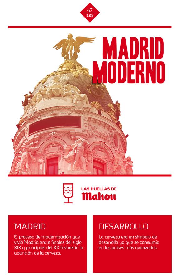 Huella 'Madrid Moderno'