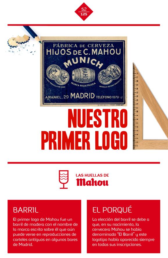 Huella 'Nuestro primer logo'