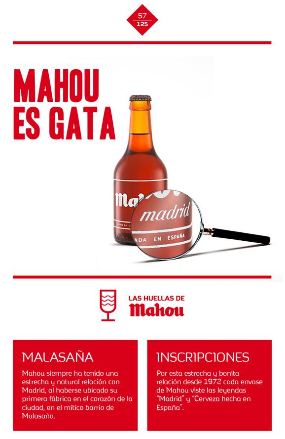 Huella 'Mahou es gata'