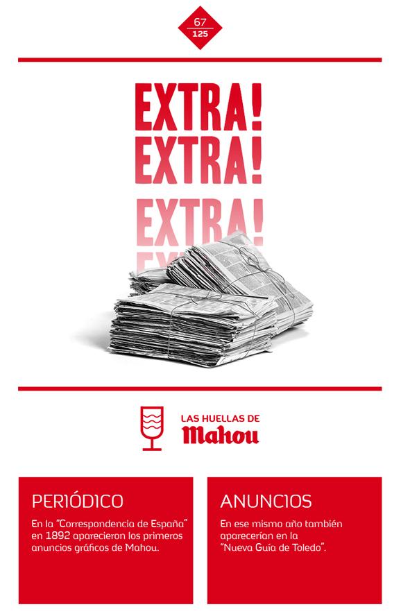Huella 'Extra! Extra! Extra!...'
