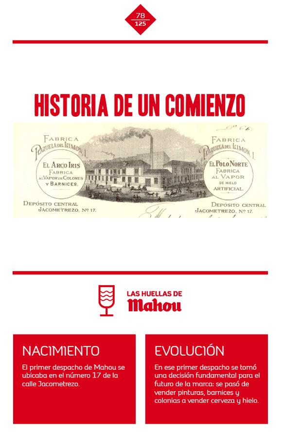 Huella 'Historia de un comienzo'