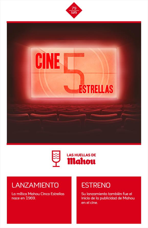 Huella 'Cine 5 Estrellas'