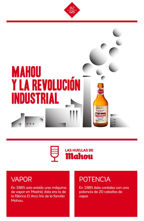Huella 'Mahou y la revolución industrial'