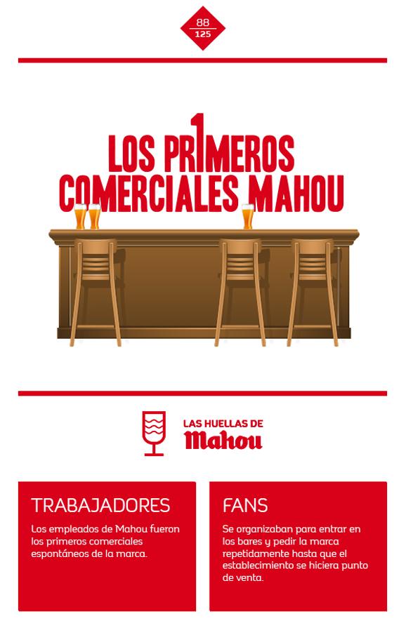 Huella 'Los primeros comerciales Mahou'