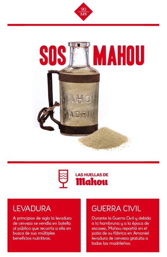 Huella 'SOS Mahou'