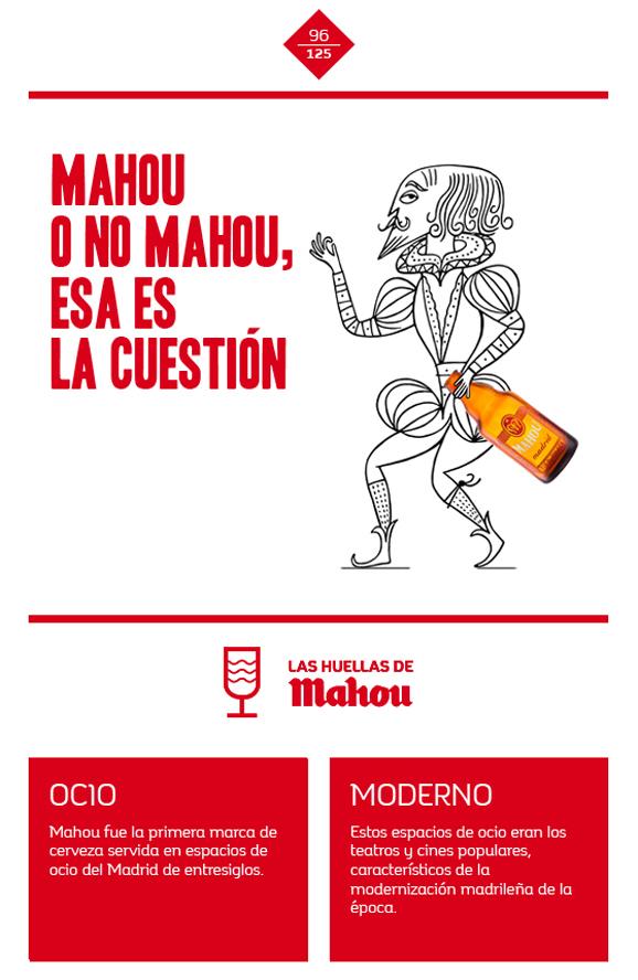Huella 'Mahou, o no Mahou, esa es la cuestión'
