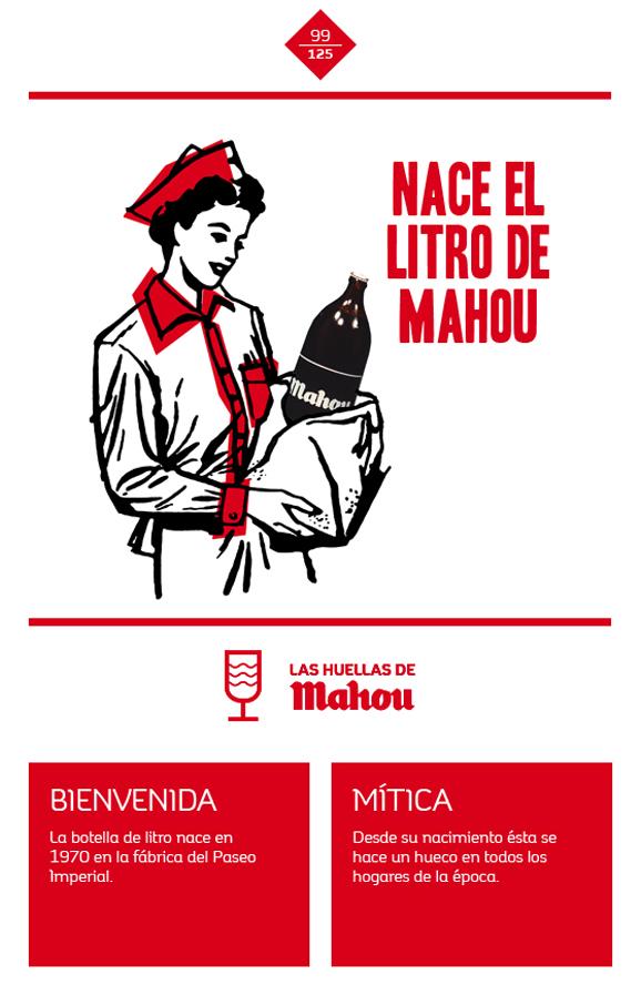 Huella 'Nace el litro de Mahou'