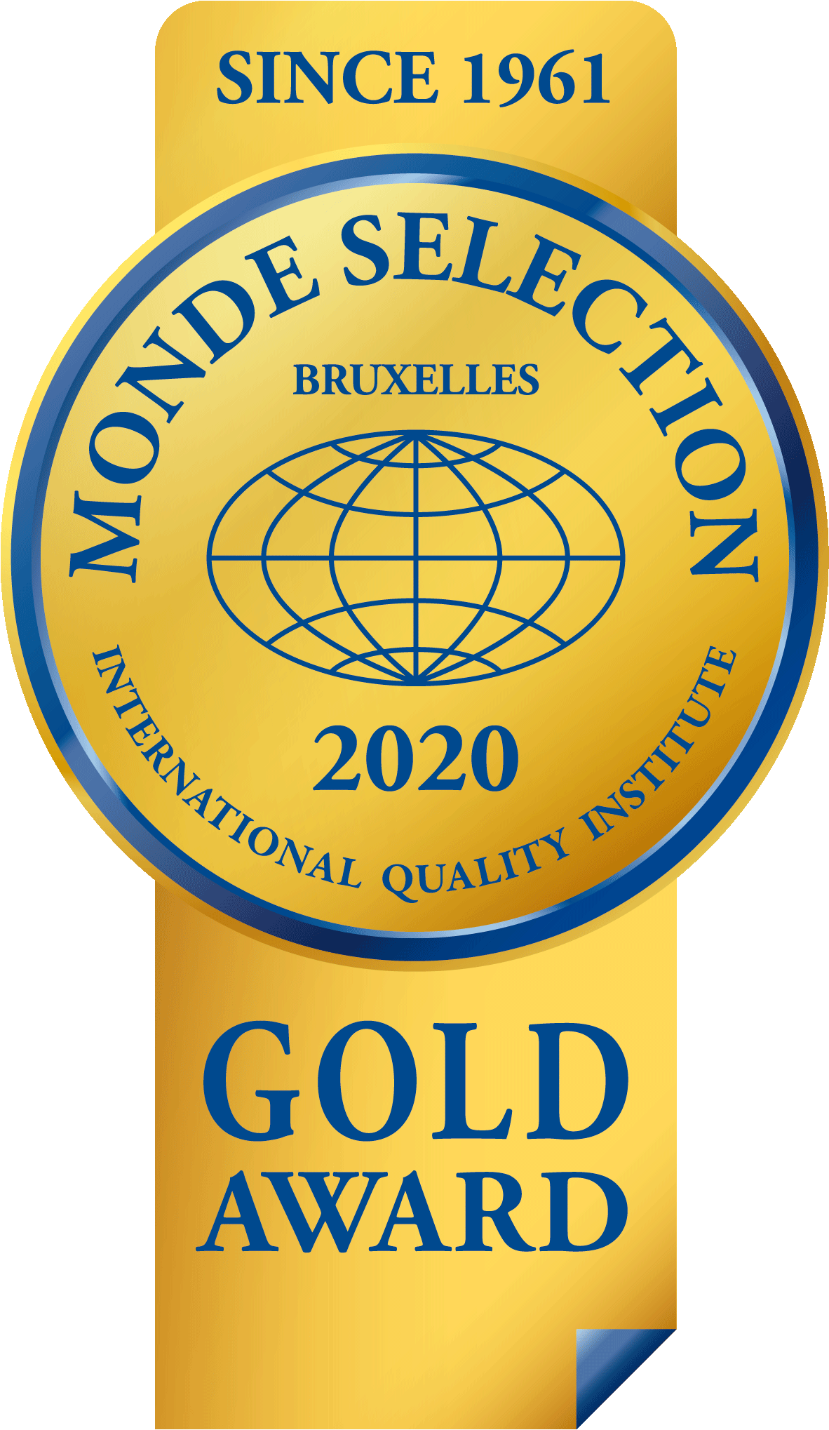 Monde Selection Bruxelles, Oro