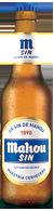 Botella Mahou Sin