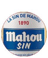 Etiqueta Mahou Sin